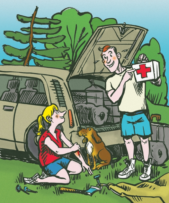 Trousse de premiers soins - First aid kit